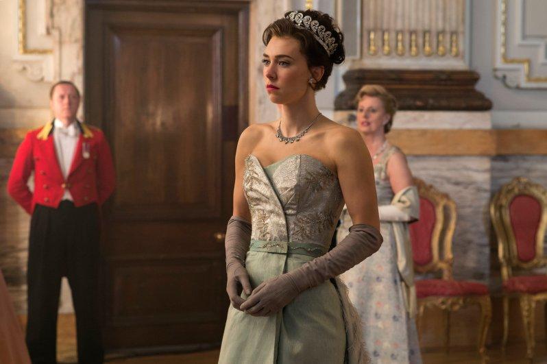 """Vanessa Kirby begeistert in ihrer Rolle als Prinzessin Margaret in """"The Crown"""" Foto: Alex Bailey / Netflix"""
