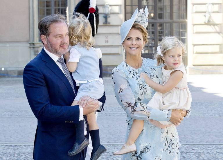 Das dritte Kind von Christopher O'Neill und Prinzessin Madeleine wird Schwede.    Foto:imago/PPE