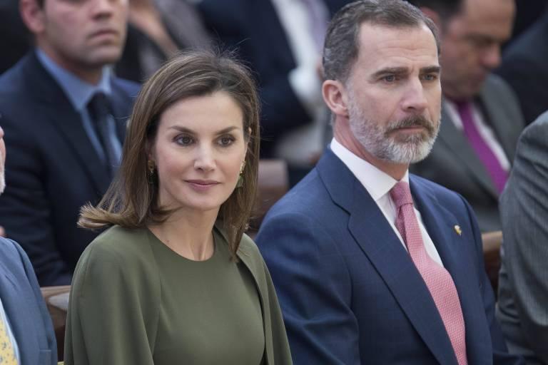 Eine große Herausforderung: Königin Letizia und König Felipe müssen Spanien vereinen und um den Fortbestand der Monarchie kämpfen.   Foto: imago/alterphotos