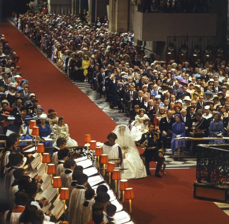 Auch die Zeremonie lief nicht problemlos ab... ©imago/United Archives International