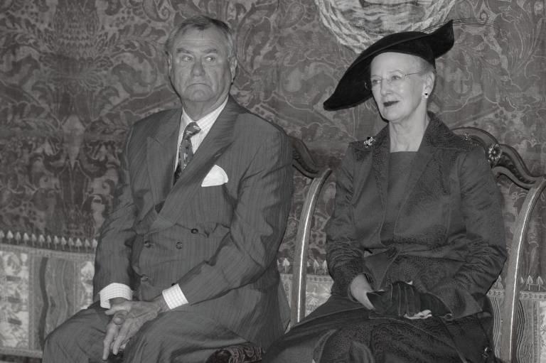 50 Jahre warne Königin Margrethe und Prinz Henrik verheiratet.  ©imago/Dean Pictures