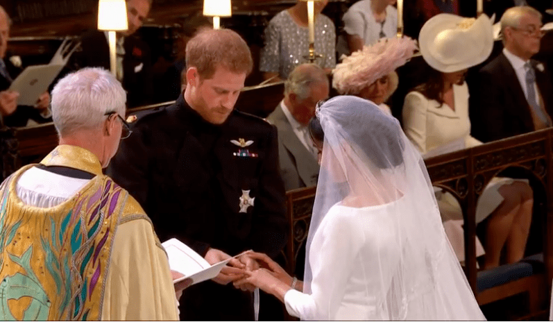 ©Screenshot Live-Übertragung Royal Wedding