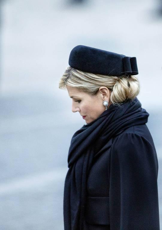 Dieses Foto zeigt Königin Maxima beim Dodenherdenking, einer Zeremonie für Opfer des Zweiten Weltkriegs. Aus Respekt vor der Familie zeigt ADELSWELT keine Bilder der Trauerfeier.  ©imago/PPE