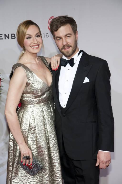 Seit 2007 sind die Moderatorin und Erbprinz Carl Ferdinand zu Bentheim und Steinfurt verheiratet.  ©imago/Sven Simon