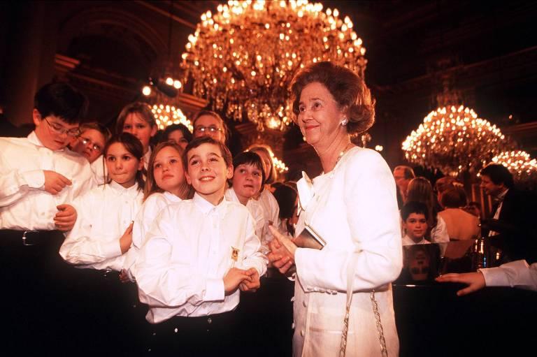 Königin Fabiola war das Glück von eigenen Kindern nie vergönnt.  © imago/Reporters