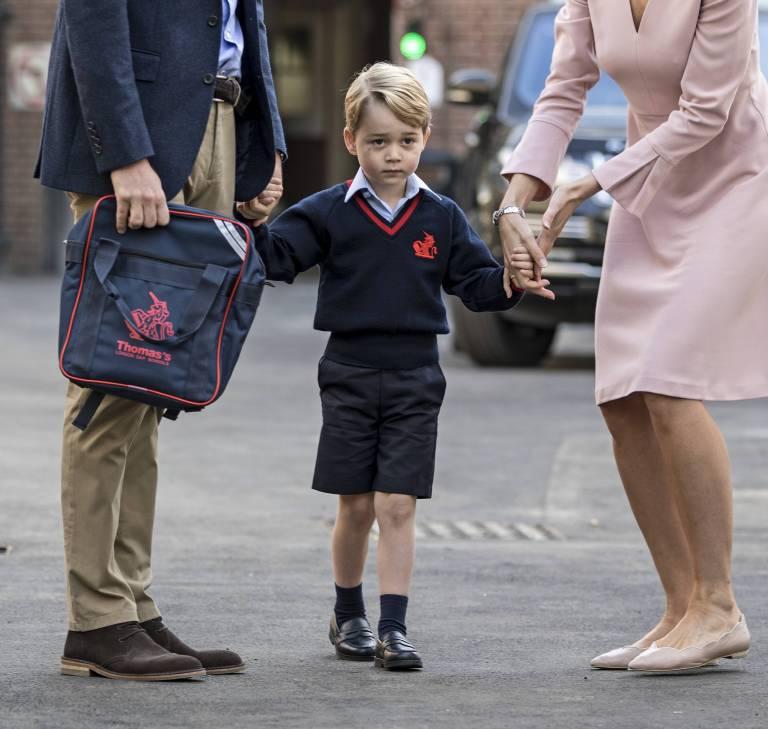In seiner Freizeit spielt Prinz George bereits Tennis. Nun lernt er auch noch Ballett.   ©imago