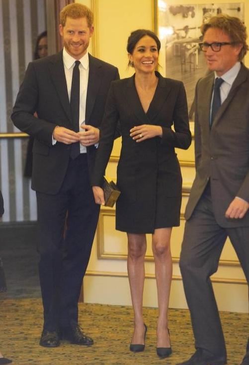 """Prinz Harry und Herzogin Meghan sammelten mit ihrem Auftritt Geld für seine Stiftung """"Senetable"""".  ©imago"""