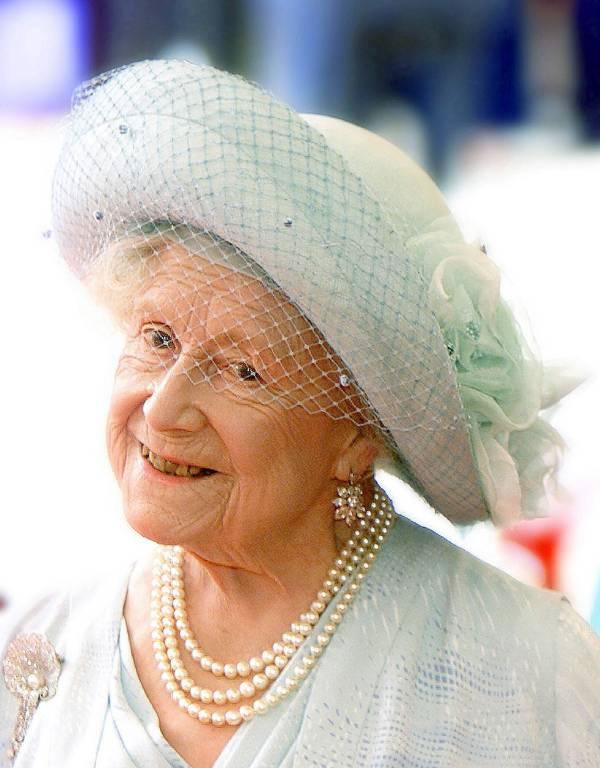 Queen Mum wurde mit bis ins hohe Alter mit einer stolzen Gesundheit gesegnet.  ©imago/Newscast
