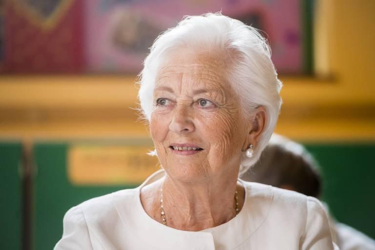 Königin Paola von Belgien musste nach einem leichten Schlaganfall ins Krankenhaus.  ©imago/Belga