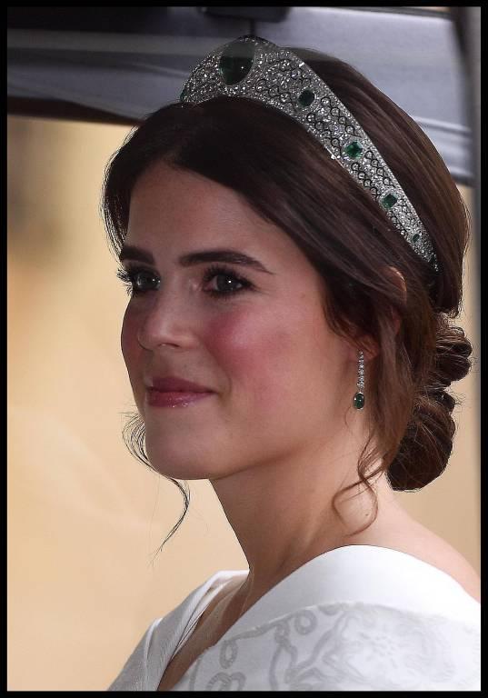 Die Tiara ist eine Leihgabe von Queen Elizabeth.  ©imago