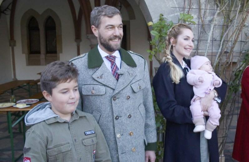 Familienglück: Elna-Margret und Carl-Ferdinand mit ihren Kindern Jonathan und Wilhelmina. ©MG RTL D / Endemol Shine Germany