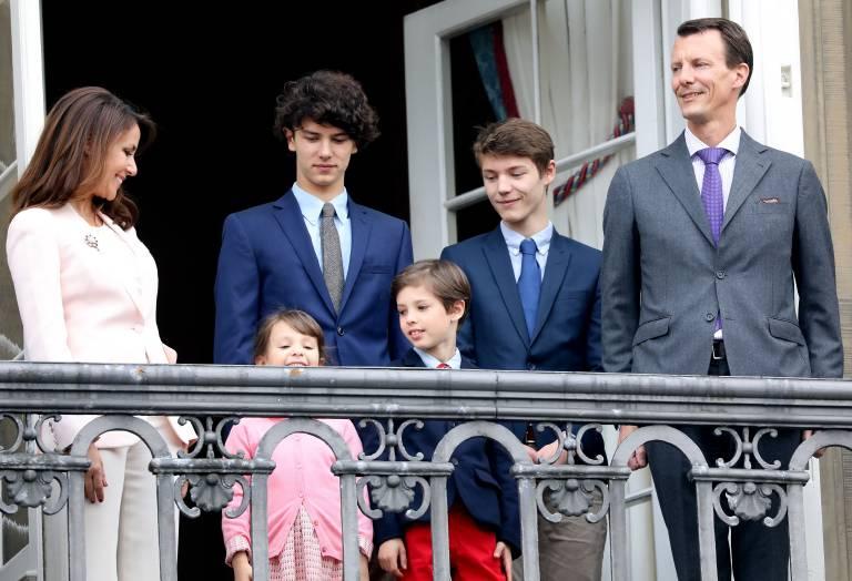 Die ältesten Söhne von Prinz Joachim kommen nicht mit nach Frankreich. Prinz Nikolai und Prinz Felix bleiben bei ihrer Mutter.  ©imago/PPE