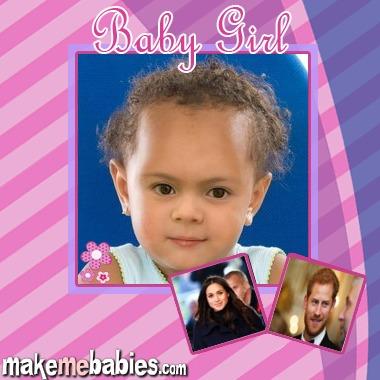 So niedlich könnte die Tochter von Prinz Harry und Herzogin Meghan aussehen.