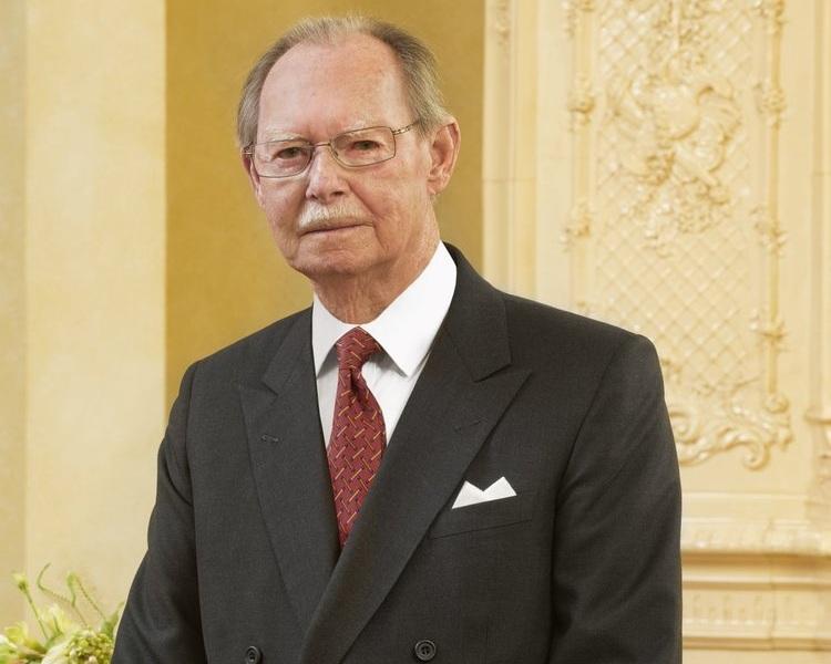 Jean von Luxemburg musste wegen einer Lungenentzündung ins Krankenhaus.  ©Cour grand-ducale / Vic Fischbach