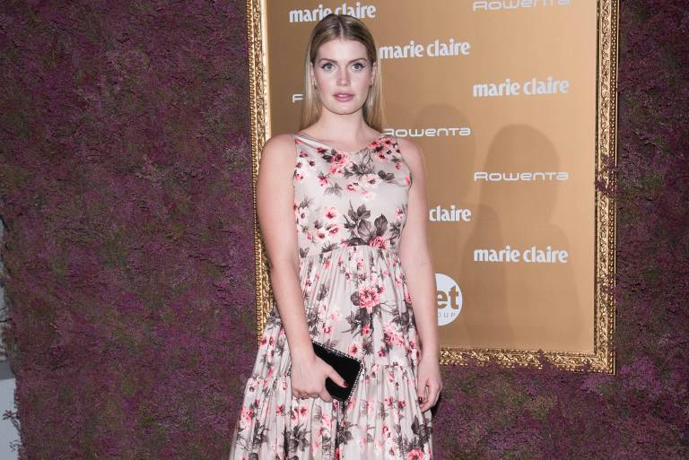 Lady Kitty Spencer ist in einen millionenschweren Mode-Tycoon verliebt.  ©imago images / ZUMA Press