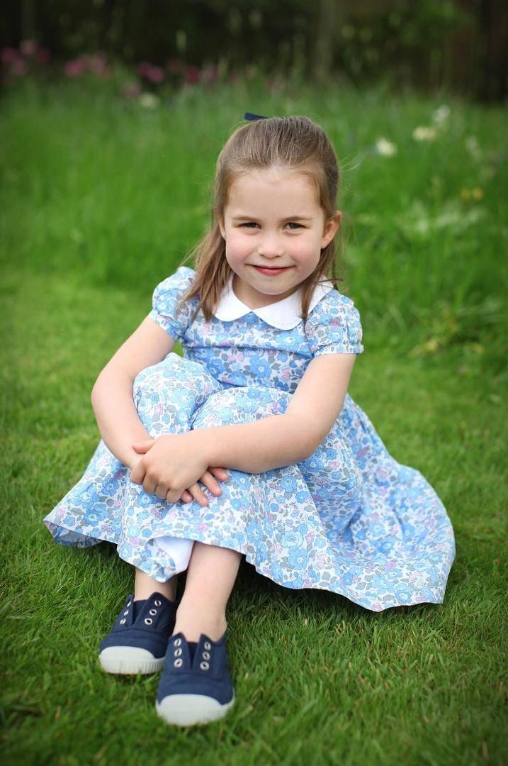 Prinzessin Charlotte hat von Prinz William einen französischen Spitznamen bekommen.  ©Herzogin Kate / Kensington Palace