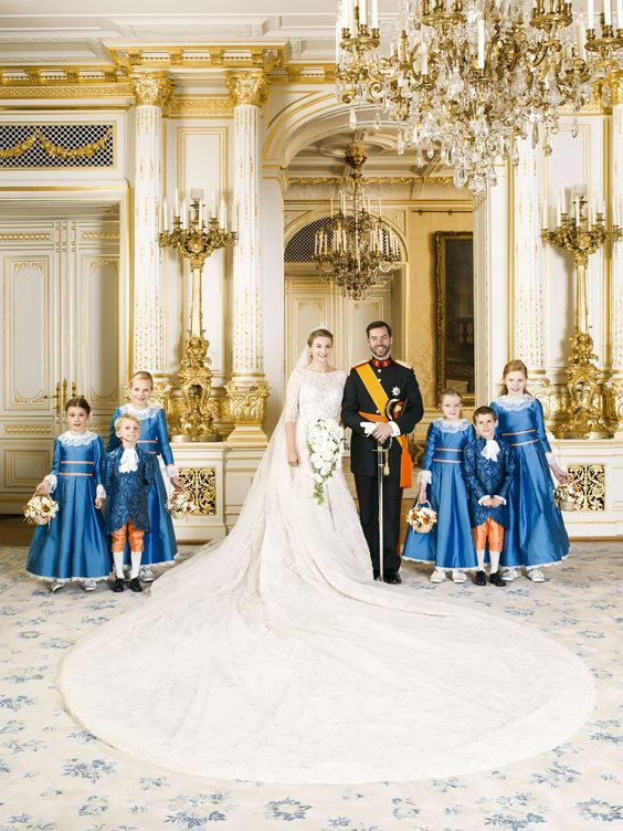 Erbgroßherzog Guillaume heiratete seine Stéphanie am 20. Oktober 2012.  ©Christian Aschman / Cour grand-ducale