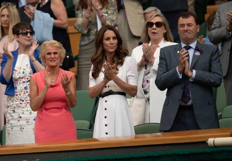 Herzogin Kate liebt Tennis. Sie schaut sich regelmäßig Spiele in Wimbledon an.  ©imago images / ZUMA Press
