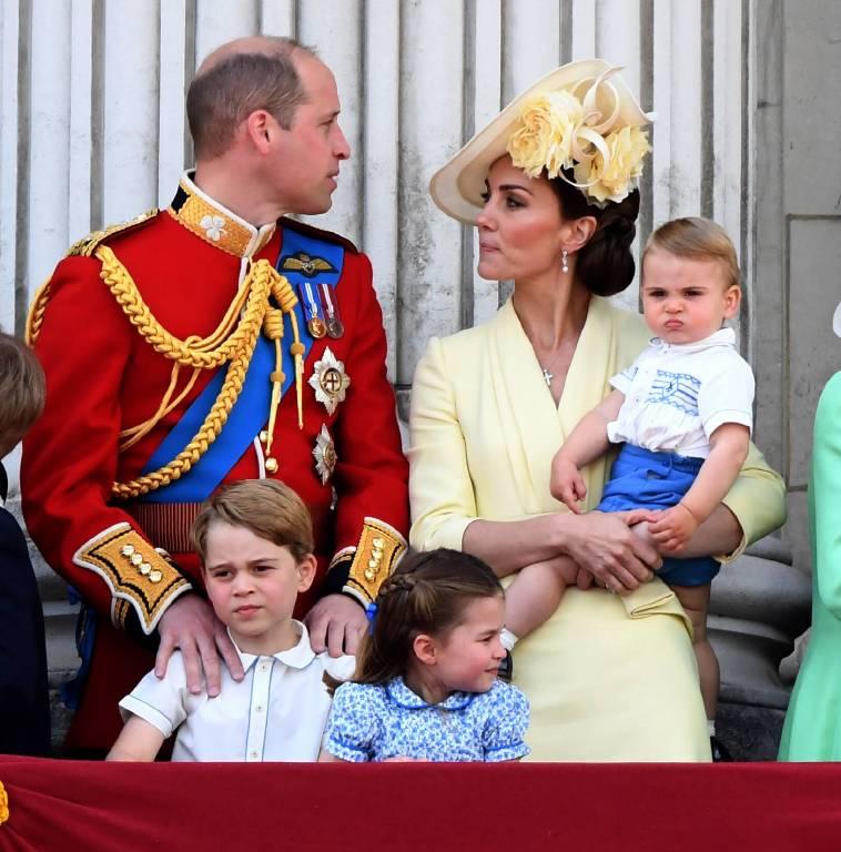 Prinz William und Herzogin Kate halten ihre Kinder die meiste Zeit von der Öffentlichkeit fern. Umso größer ist die Freude bei den Fans, wenn sie einen privaten Schnappschuss sehen können.  ©imago images / PA Images
