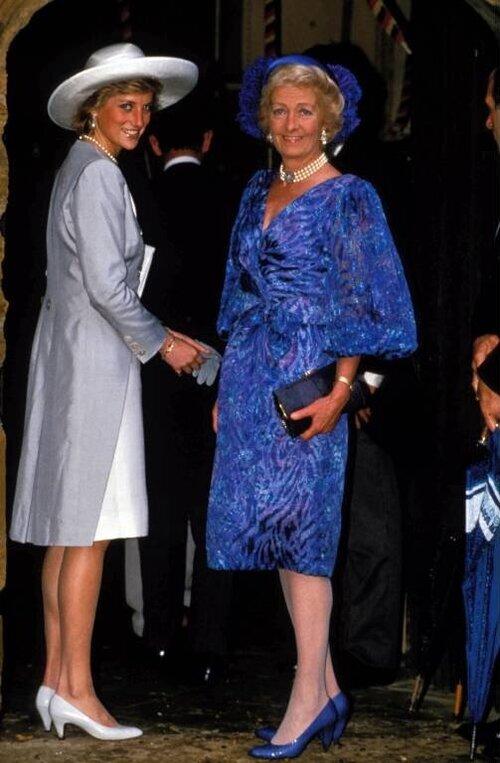 Prinzessin Diana und ihre Mutter Frances hatten ein angespannt. © imago images / ZUMA Press