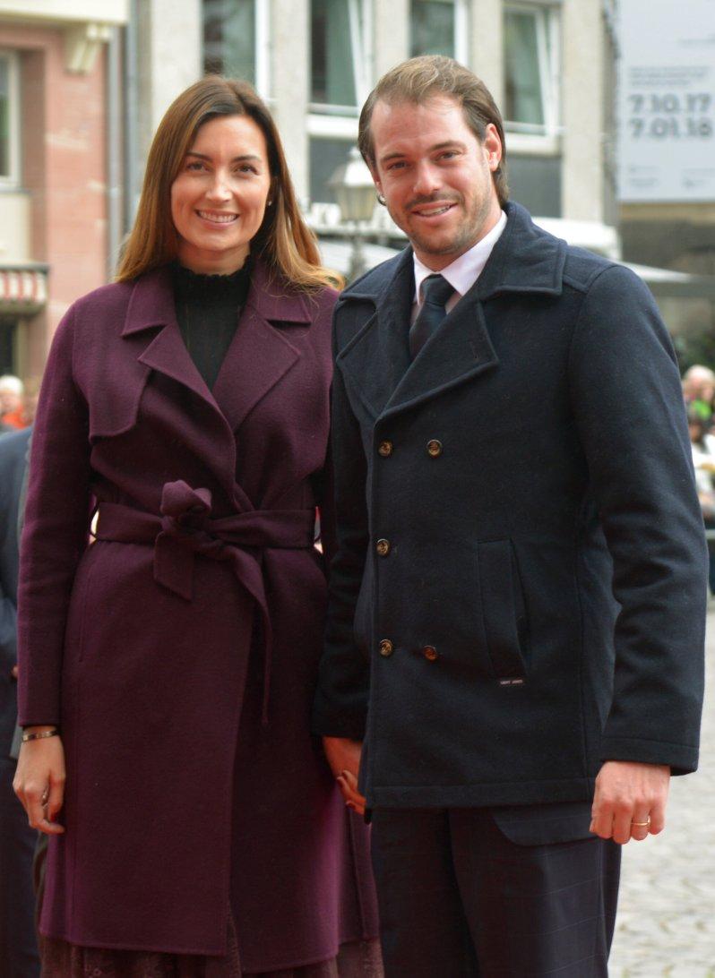 Félix von Luxemburg und die deutschstämmige Prinzessin Claire sind seit 2013 verheiratet. Ihr Glück krönten sie mit zwei Kindern.  © picture alliance