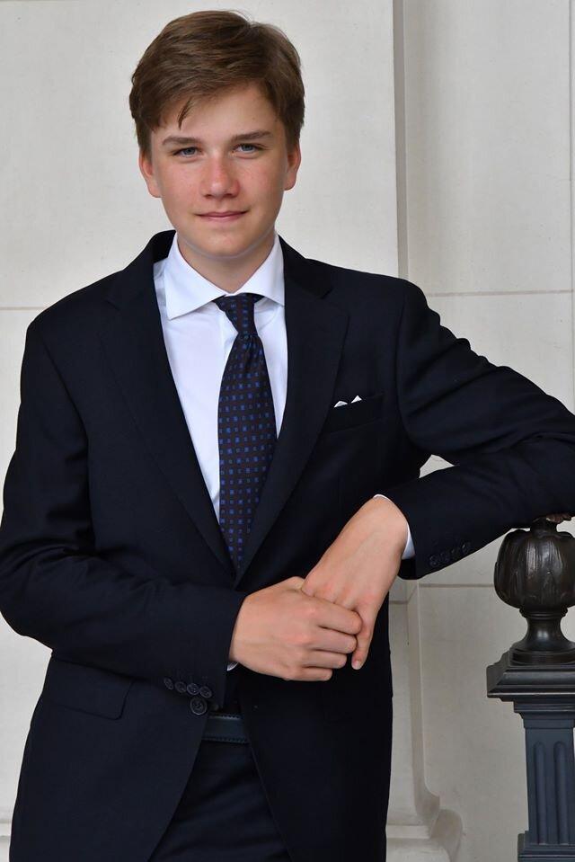 Prinz Gabriel ist der älteste Sohn von Königin Mathilde und König Philippe. Laut Gesetz darf er keine niederländische Prinzessin heiraten.  © Belgian Royal Family