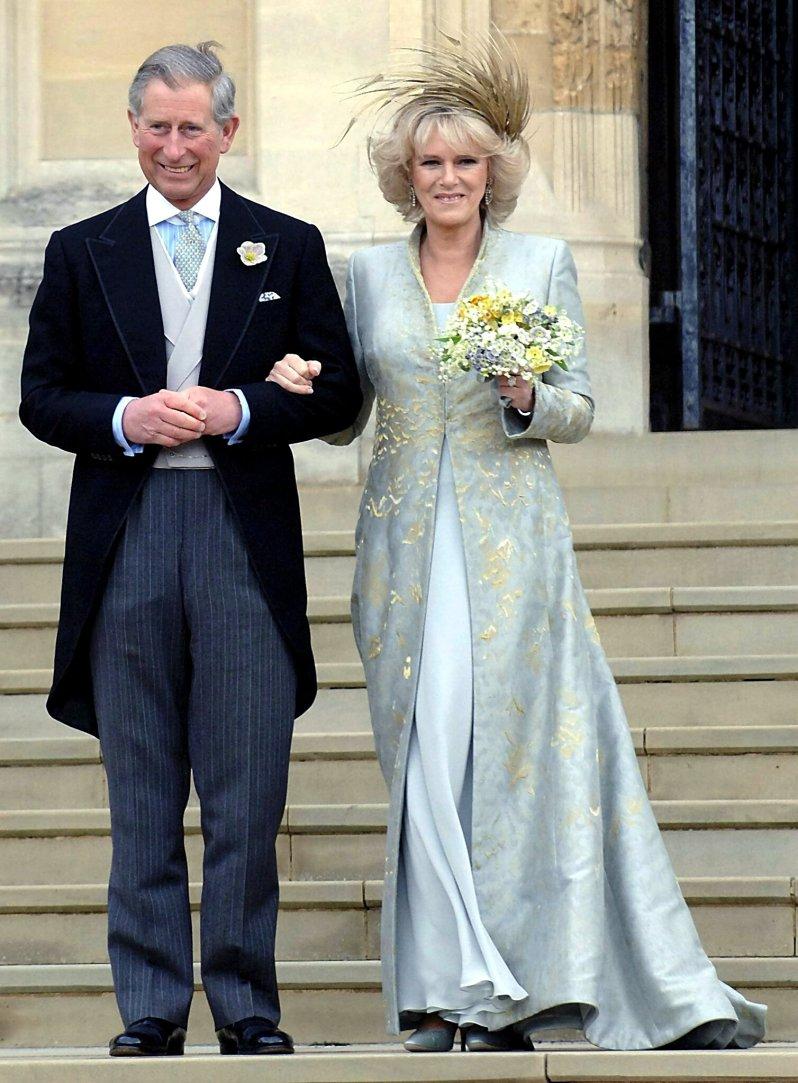 Herzogin Camilla war so krank, dass sie ihre Hochzeit mit Prinz Charles am liebsten abegsagt hätte.  © dpa