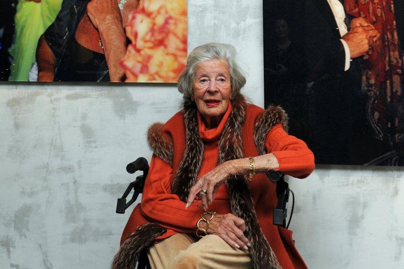 Marianne Fürstin zu Sayn-Wittgenstein-Sayn alias Mamarazza wurde 100 Jahre alt.  © dpa