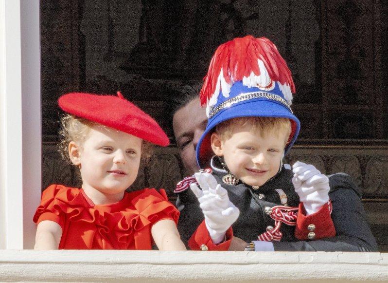 Prinzessin Gabriella und Prinz Jacques wurden am 10. Dezember fünf Jahre alt. Die Zwillinge sind nicht nur der ganze Stolz ihrer Eltern, sondern der von ganz Monaco.  © picture alliance/RoyalPress Europe