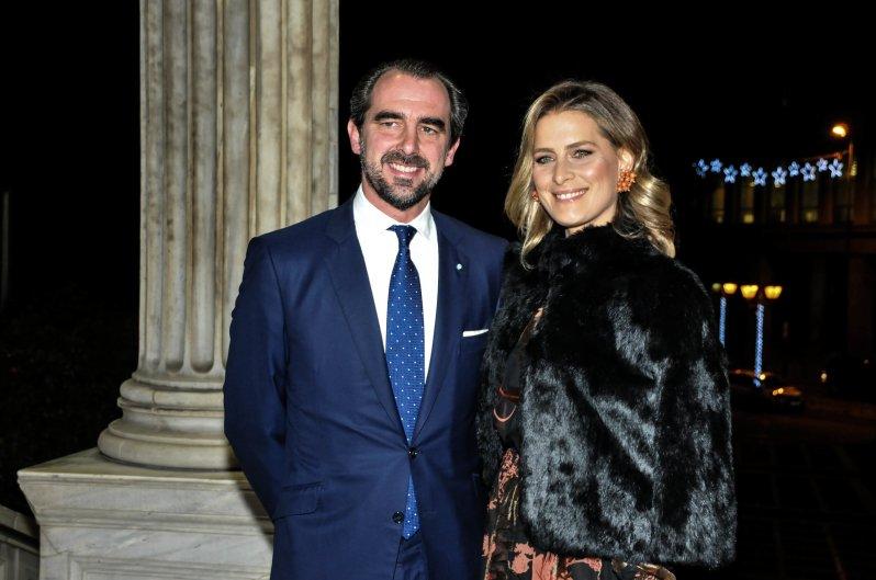 Prinz Nikolaos und Prinzessin Tatiana sind seit 2010 verheiratet.  © picture alliance/ZUMA Press