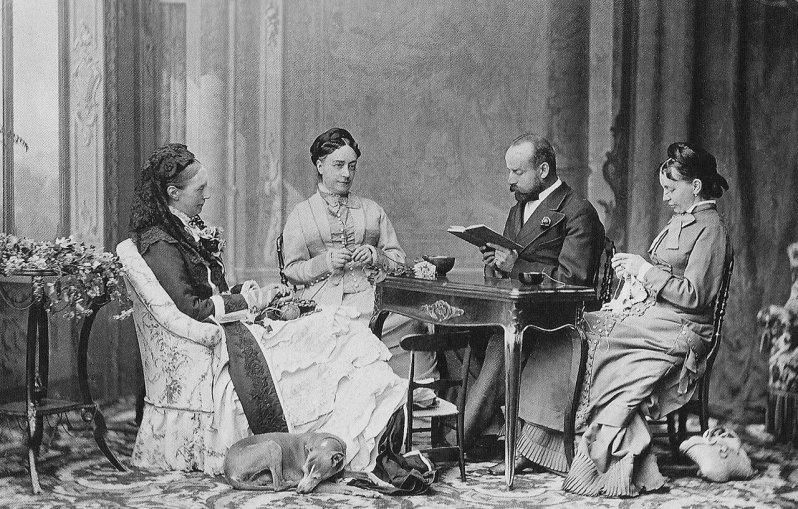 Charles Woodcock wurde eigentlich als Vorleser von Königin Olga engagiert, wurde dann der Liebhaber ihres Mannes. © Public Domain