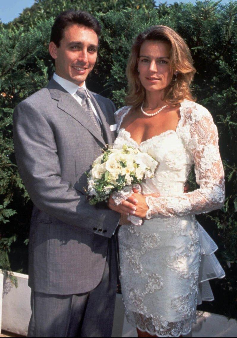 Scheidung im Fürstenhaus Monaco: Nur ein Jahr nach der Hochzeit trennten sich Prinzessin Stéphanie und Daniel Ducruet. © picture alliance / AP Images