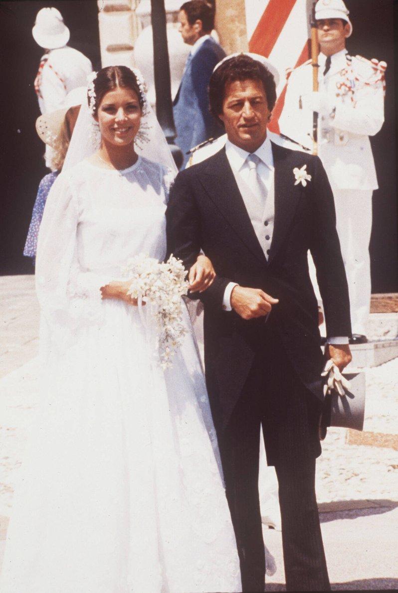 Die Prinzessin und der Playboy: Die Ehe von Caroline von Monaco und Philippe Junot wurde kinderlos geschieden. © picture alliance / AP Images