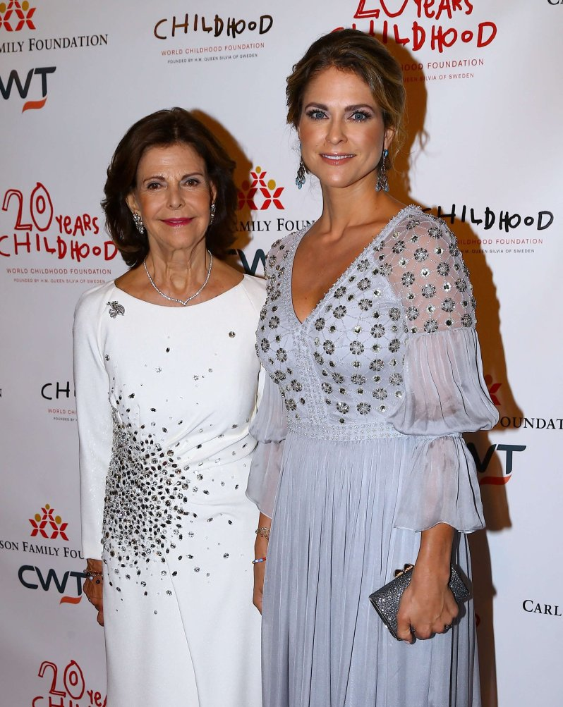 Königin Silvia und Prinzessin Madeleine haben ein sehr enges Verhältnis. Vor allem ihre gemeinsame Arbeit hat Mutter und Tochter zusammengeschweißt. © picture alliance / abaca