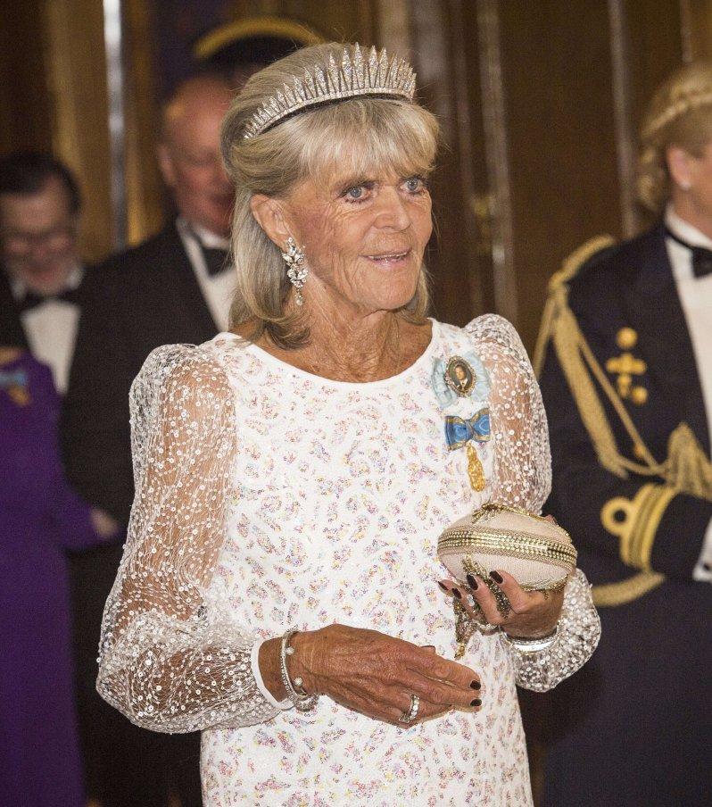 Für Prinzessin Birgitta besteht ein erhöhtes Risiko. Die Schwester von König Carl Gustaf hat Herzprobleme.  © picture alliance/IBL Schweden