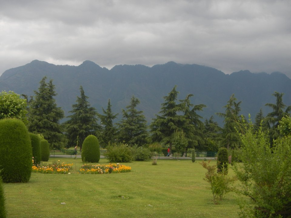 """Kashmir's picturesque landscape is marked by rolling hills and meadows, which Sufi poet Amir Khusro referred to as """"Paradise on Earth"""". Photo by Priyadarshini Sen."""