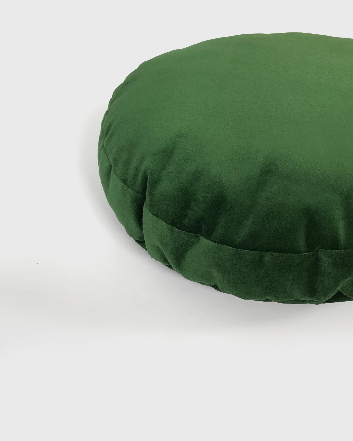 round velvet pillow always x always