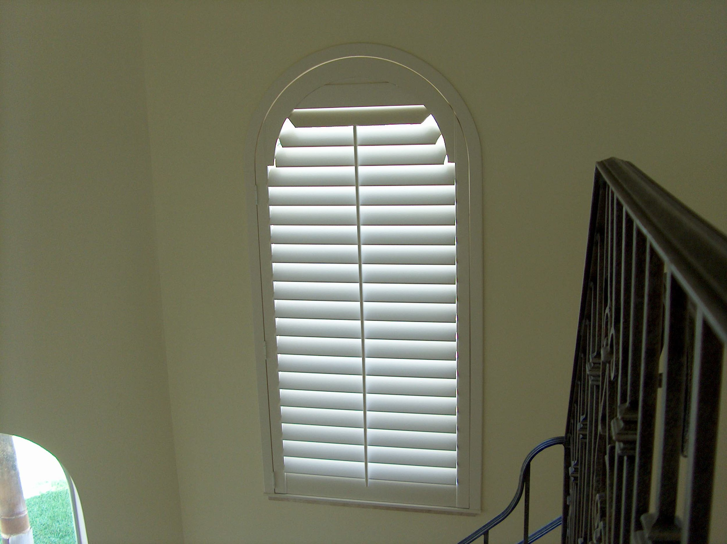 Specialty Shapes California Shutters