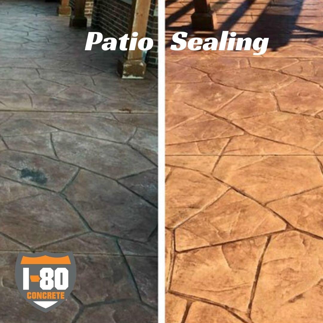 concrete sealing joint sealing patio