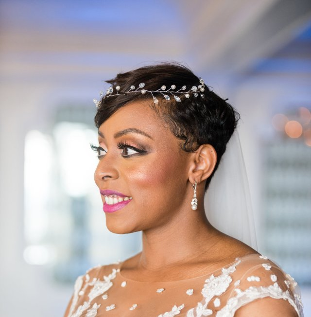 wedding hair and makeup for black women: how to choose your