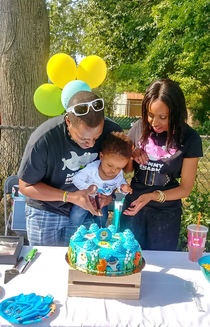 Rj S First Birthday Party Baby Shark Irie Chic
