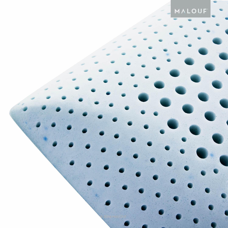 malouf sleep z zoned gel talalay latex pillow malouf sleep sale 25 off sheets pillows mattress protectors