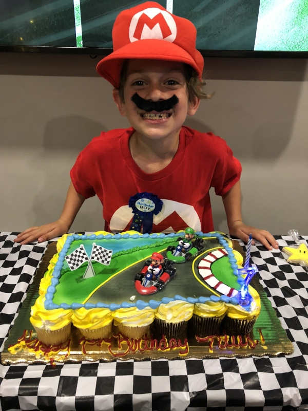 Mario Kart Birthday Party Making Me Too
