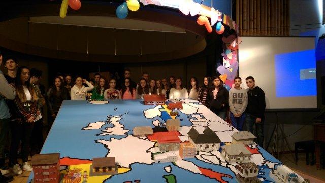 Foto: Elevii Mihaelei într-un proiect Erasmus+