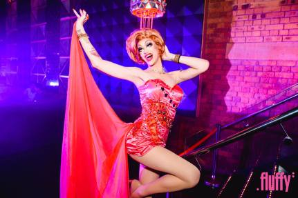 Scarlett Fever in a club in Brisbane