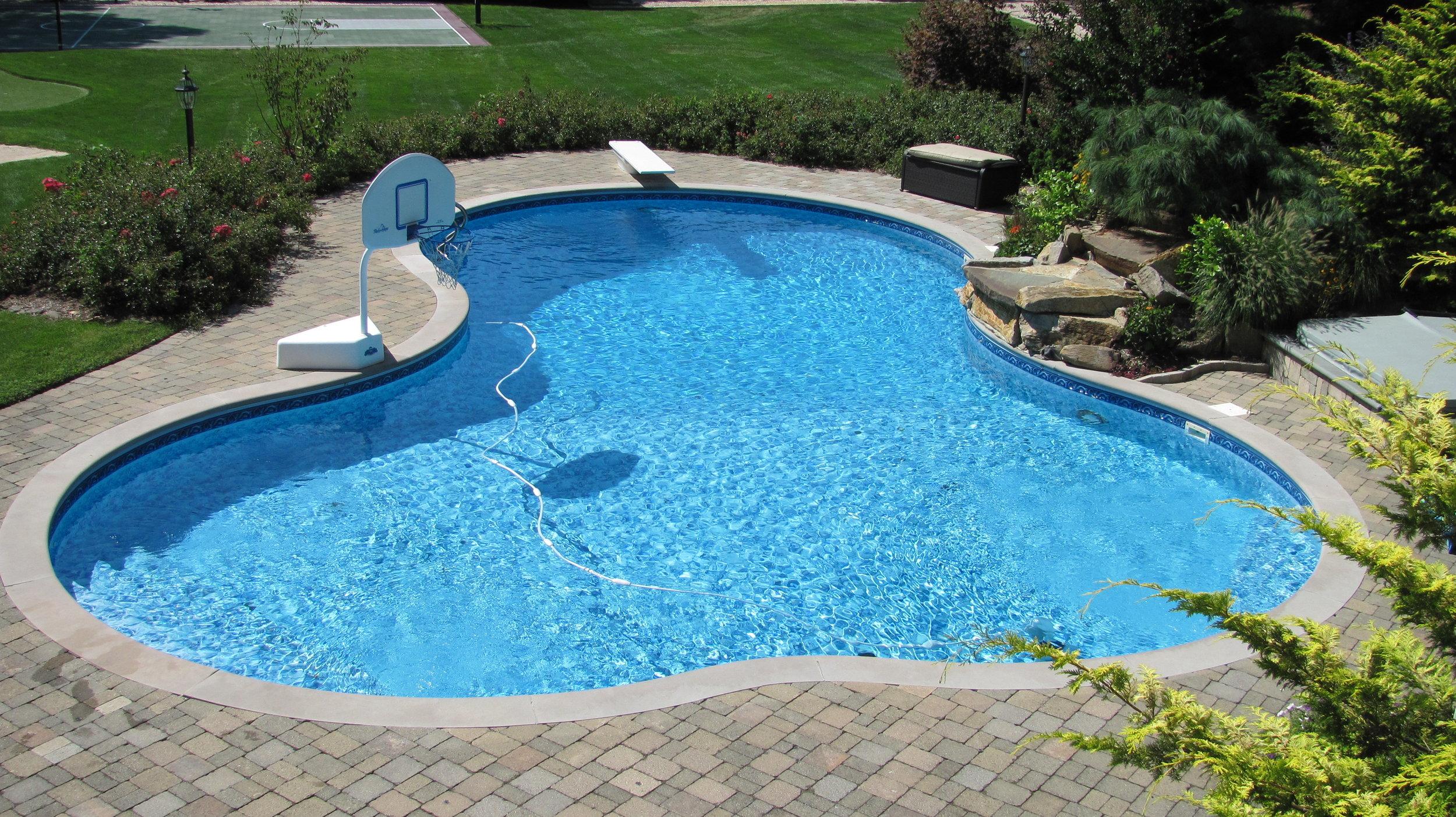 fiberglass pools swimming pool in dix
