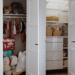 Nursery Closet Organization Elfa Decor Upgrade From The Container Store Everyday Pursuits