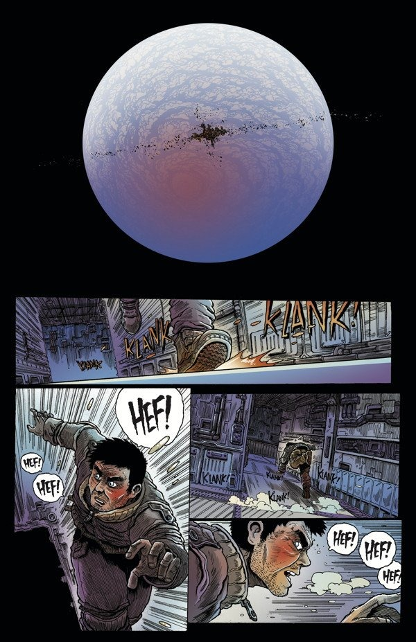 ALIENS: DEAD ORBIT #2 REVIEW: JAMES STOKOE IS BAE!! — You Don't Read Comics