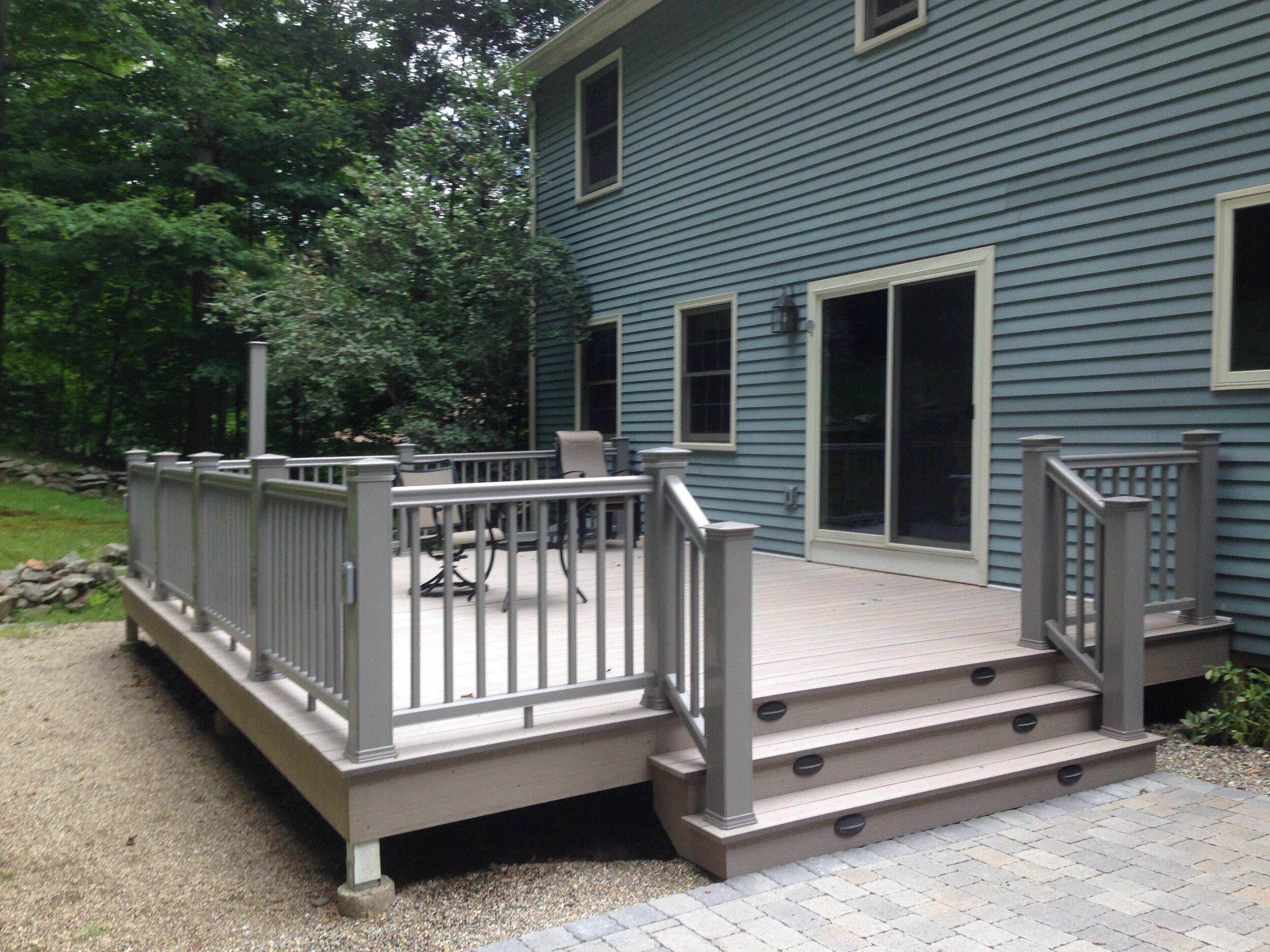 timbertech deck and rail funk little
