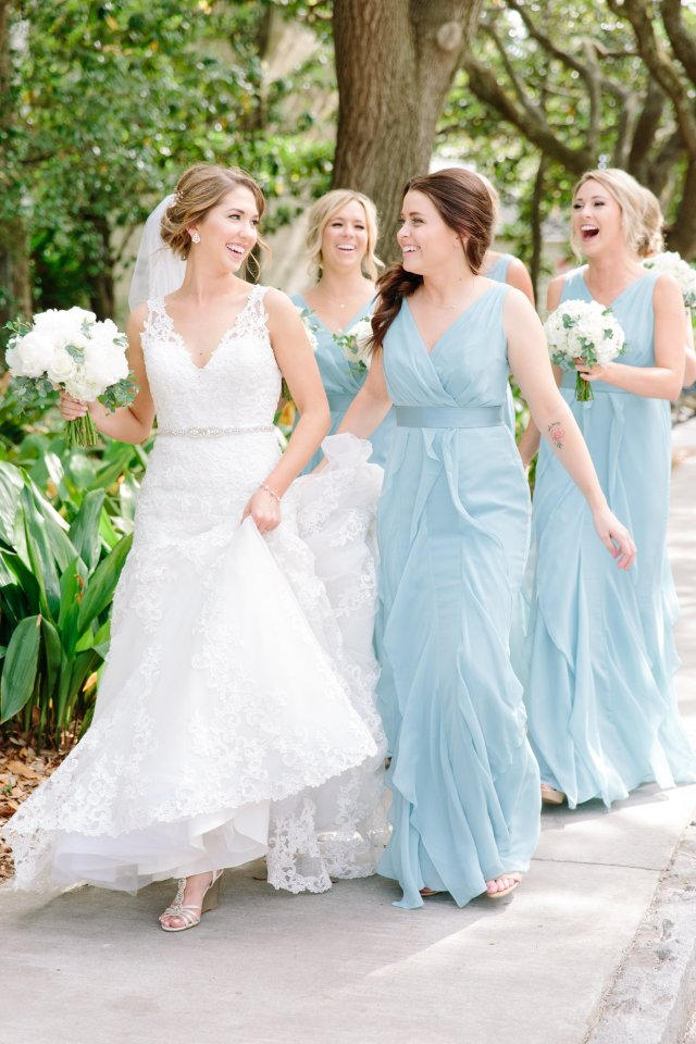 laney + zack — pampered & pretty | bridal hair and makeup